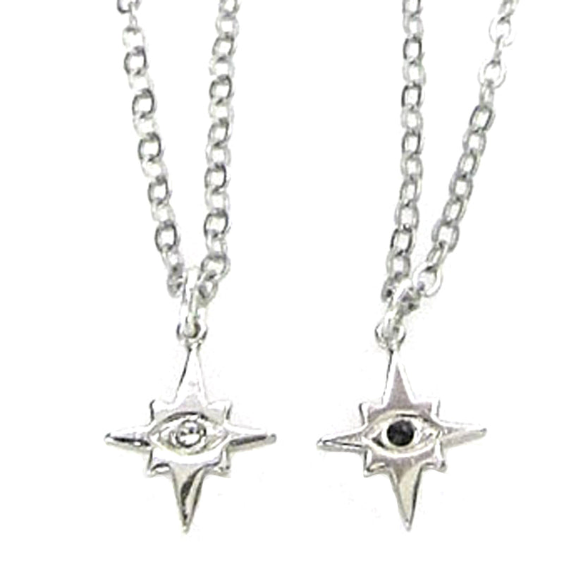 Celestial Collection Evil Eye Mini Star Pendant Necklace