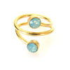 JE Classic Collection Laurel Ring w/ Swarovski Crystal