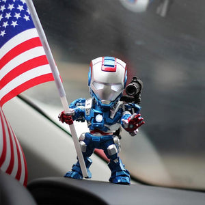 (Buy 2 Free Shipping)2019 new Car Perfume Iron Man Auto Air Freshener