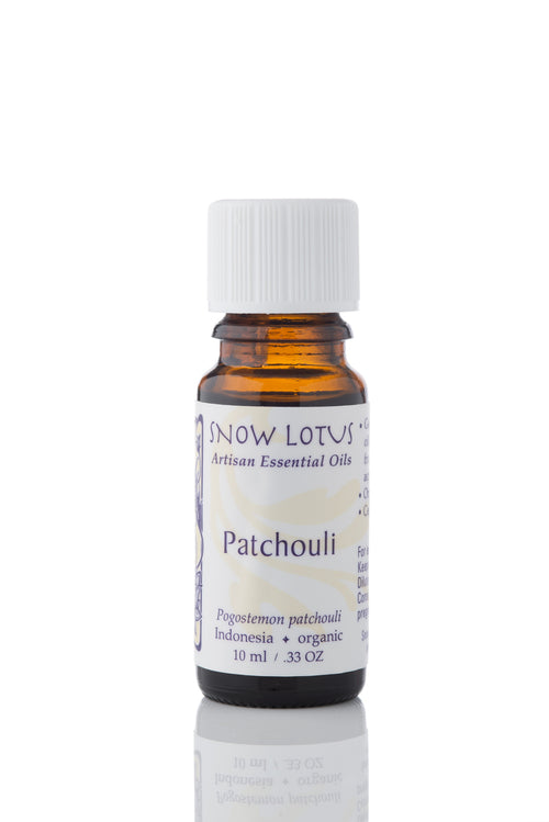 snow lotus organic patchouli essential oil 10ml