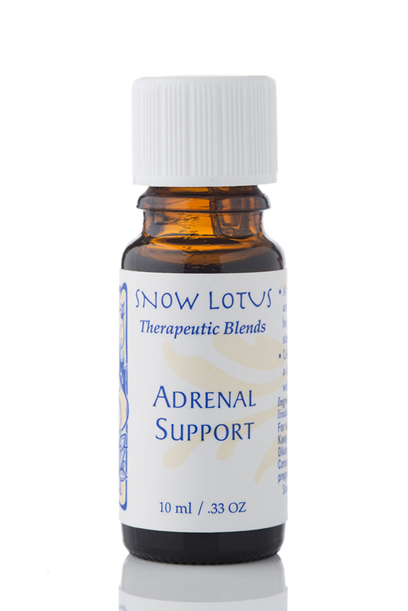 snow lotus adrenal support essential oil blend, 10 ml