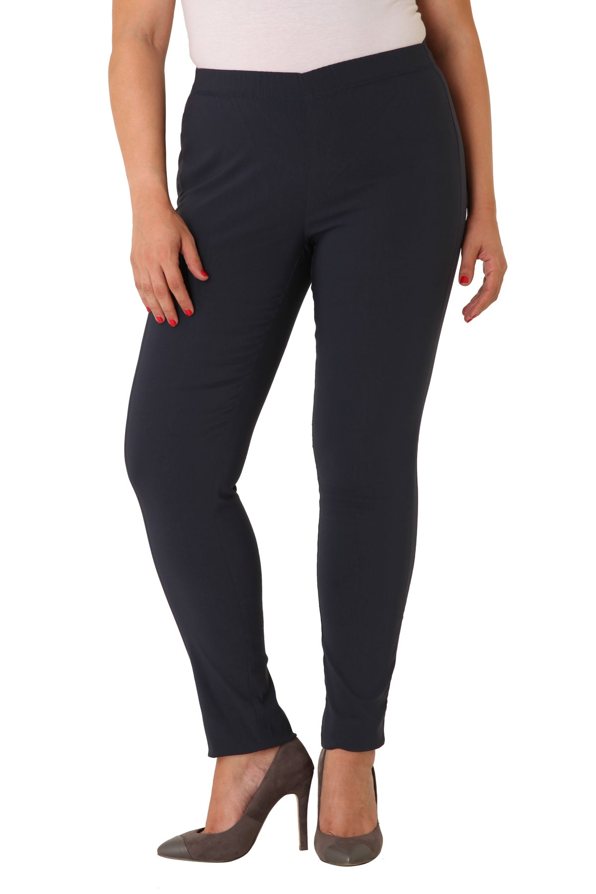 Zhenzi Strechbuxur, Twist legging fit