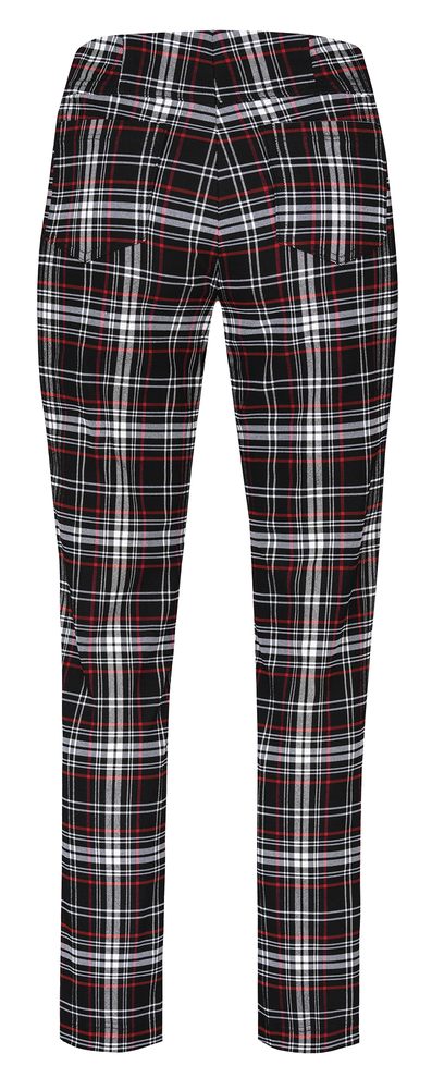 Robell - Bella Check Tartan Pattern Trouser - Limited Edition -