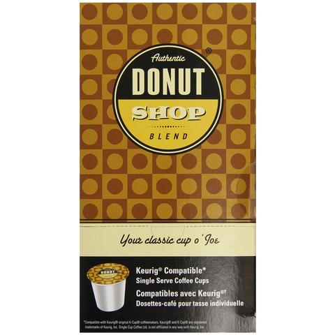 Authentic Donut Shop Blend Coffee Chocolate Chip Cookie