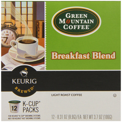 Keurig Green Mountain Coffee Breakfast Blend K-Cup