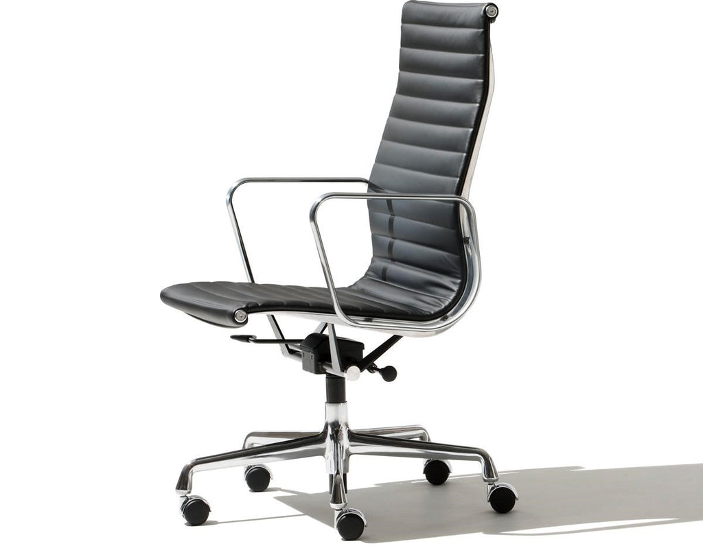 Herman Miller 1 1 Real Leather Eames Chair Inspired Version Tall B Newstar Collection