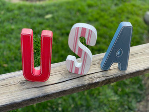 USA Letter Decor