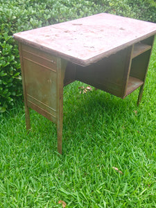 Child's Metal Desk