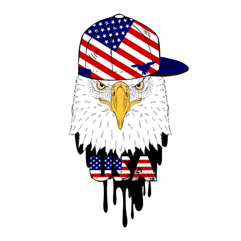 American Eagle and Cap