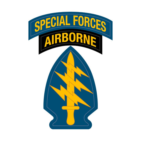 United States Army Special Forces Tab & Patch