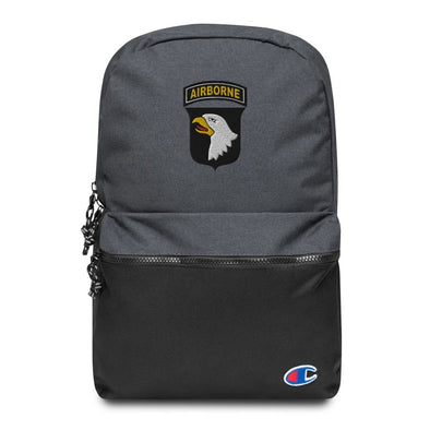 101st Airborne Division Embroidered Champion Backpack