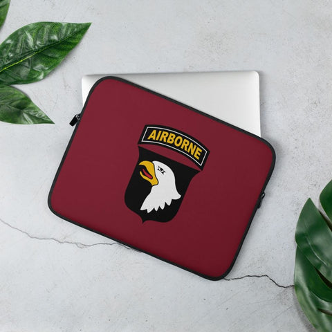 101st Airborne Division Laptop Sleeve - 13 in