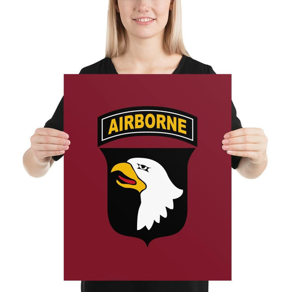 101st Airborne Division Poster - 16×20