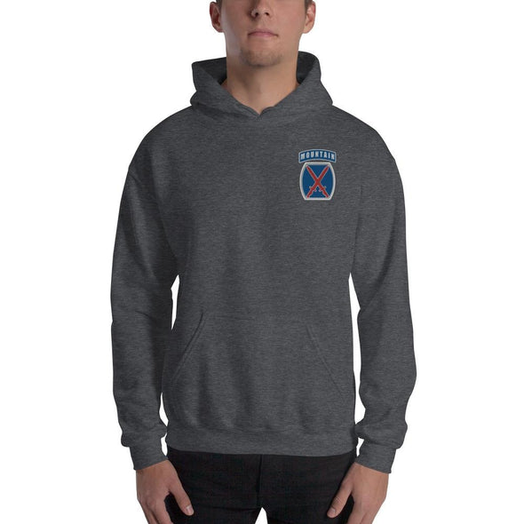 10th Mountain Division Embroidered Unisex Hoodie