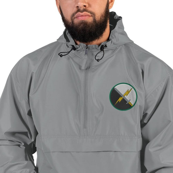 opszillastore,1st Information Operations Command Embroidered Champion Packable Jacket,