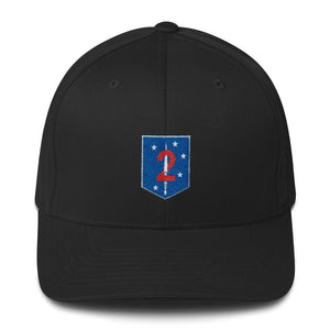 opszillastore,2nd Marine Special Operations Battalion Embroidered Structured Twill Cap,