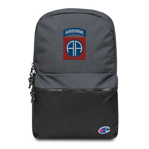 82nd Airborne Division Embroidered Champion Backpack