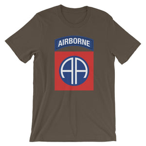 opszillastore,82nd Airborne Division Short-Sleeve Unisex T-Shirt,