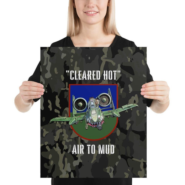 opszillastore,A-10 Warthog Thunderbolt II Tank Buster Poster,