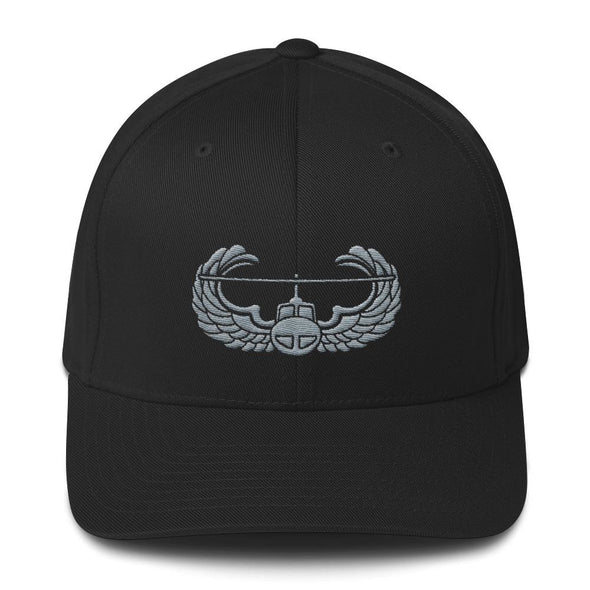 opszillastore,Air Assault Badge Embroidered Structured Twill Cap,