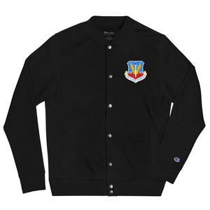 opszillastore,Air Combat Command (ACC) Embroidered Champion Bomber Jacket,