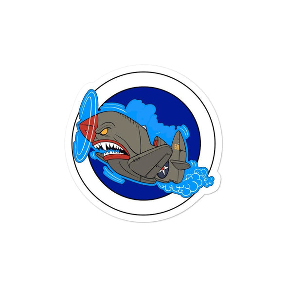 Air Shark Fighter Bubble-free stickers - 3x3
