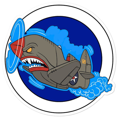 Air Shark Fighter Bubble-free stickers - 5.5x5.5