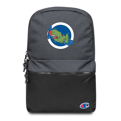 Air Shark Fighter Embroidered Champion Backpack