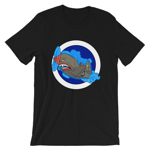 opszillastore,Air Shark Fighter Short-Sleeve Unisex T-Shirt,