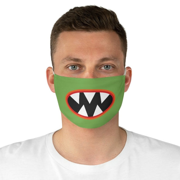 Alien Teeth Fabric Face Mask - One size - Accessories