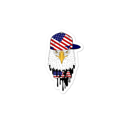 opszillastore,American Eagle and Cap Bubble-free stickers,