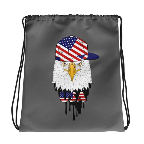 opszillastore,American Eagle and Cap Drawstring bag,