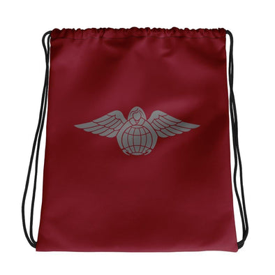 Angel of Mercy Drawstring bag
