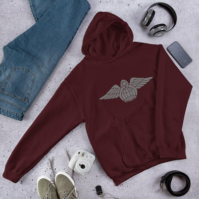 Angel of Mercy Unisex Hoodie - Maroon / S