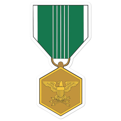 Army Commendation Medal Bubble-free stickers - 5.5x5.5