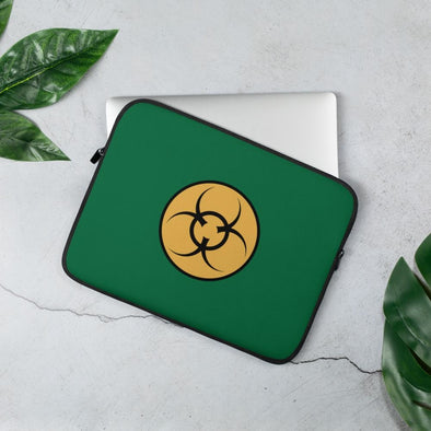 Bio Hazard Laptop Sleeve - 13 in