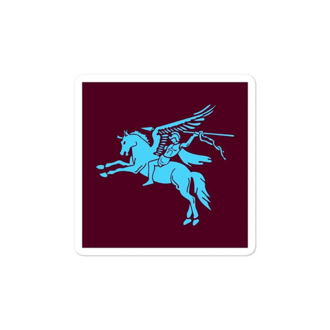 opszillastore,British 1st Para Regiment Pegasus Bubble-free stickers,