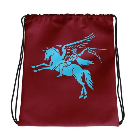 opszillastore,British 1st Para Regiment Pegasus Drawstring bag,