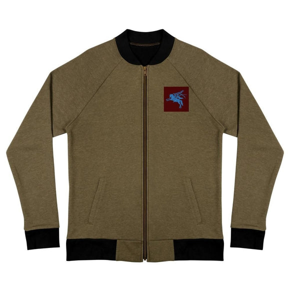 opszillastore,British 1st Para Regiment Pegasus Embroidered Bomber Jacket,