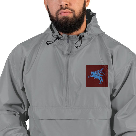 opszillastore,British 1st Para Regiment Pegasus Embroidered Champion Packable Jacket,