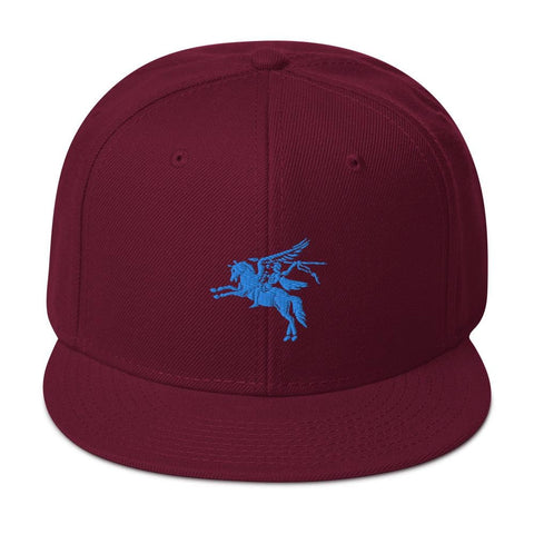 opszillastore,British 1st Para Regiment Pegasus Embroidered Snapback Hat,