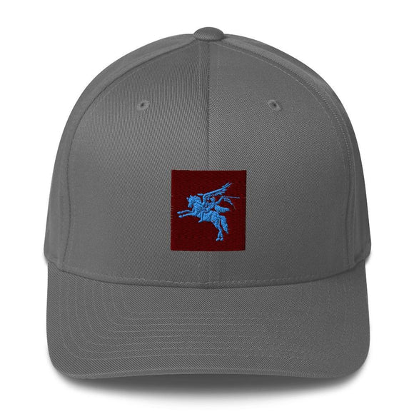 opszillastore,British 1st Para Regiment Pegasus Embroidered Structured Twill Cap,