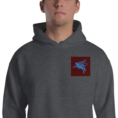 opszillastore,British 1st Para Regiment Pegasus Embroidered Unisex Hoodie,