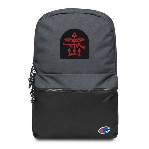 British Commando Embroidered Champion Backpack