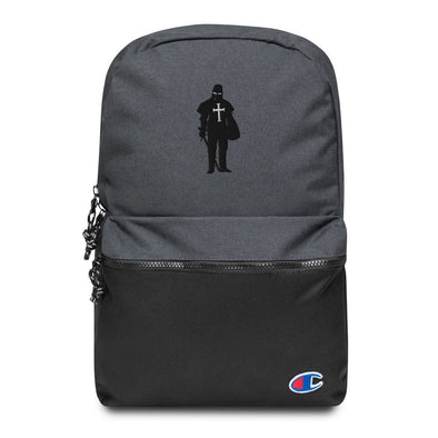 Crusader Embroidered Champion Backpack