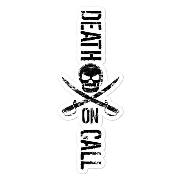 Death On Call Bubble-free stickers - 5.5x5.5