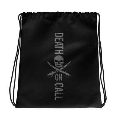 Death On Call Drawstring bag