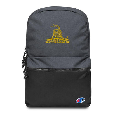 Don't Tread On Me Embroidered Champion Backpack