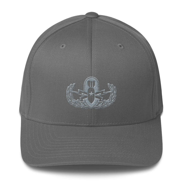 opszillastore,Explosive Ordinance Disposal (EOD) Embroidered Structured Twill Cap,