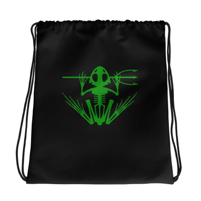 United States Navy UDT SEAL Frogman Drawstring bag